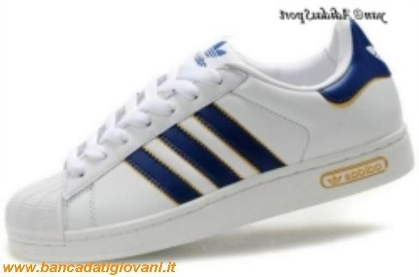Superstar Adidas Blu Scuro