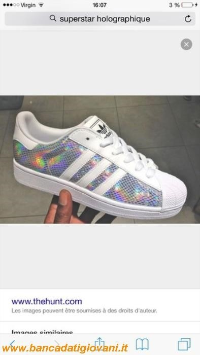 Adidas Superstar Holographic Prezzo