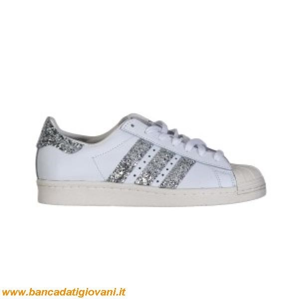 Superstar Argento Glitter