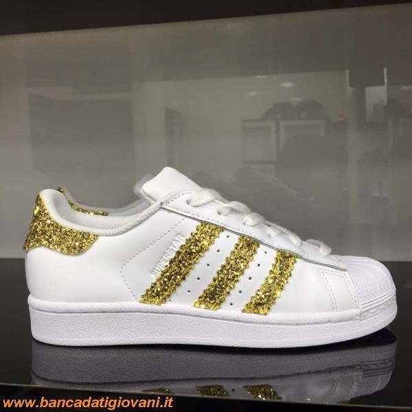 Scarpe Adidas Superstar Brillantinate