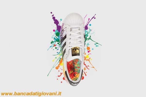 Scarpe Adidas Superstar Multicolor