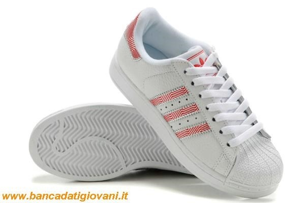 adidas superstar rosse ragazza