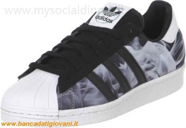pretty nice 6bf55 70e5d Adidas Superstar Alte Nere E Bianche