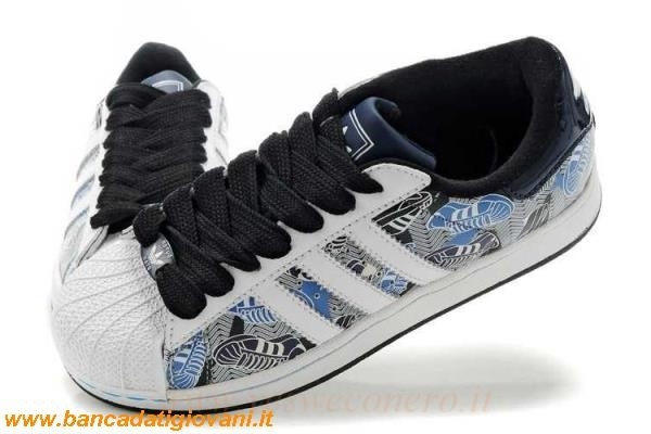 free shipping 67d60 ad0cc Adidas Superstar Bianche E Nere Uomo