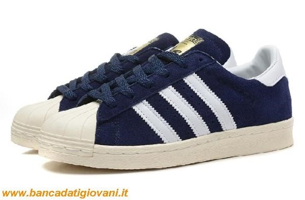 Adidas Superstar Blu Navy