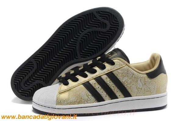 Adidas Superstar Nere E Dorate