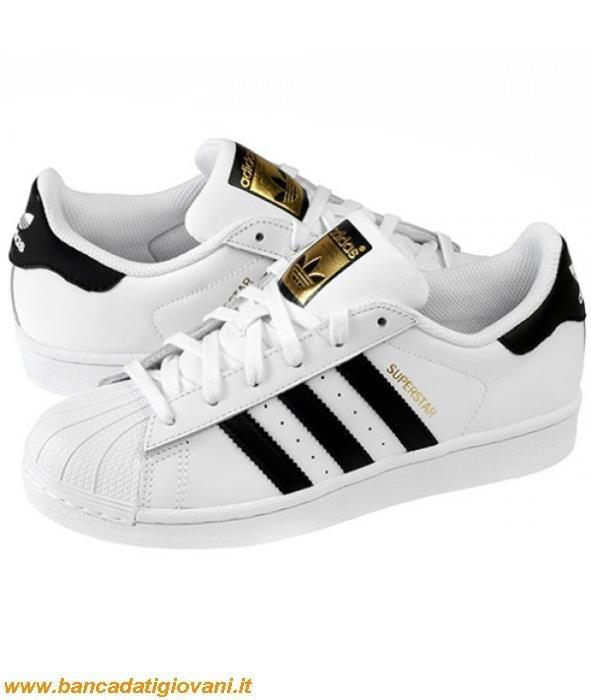 Adidas Superstar Bianche E Nere 37 bancadatigiovani.it