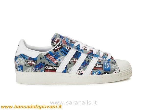 new styles ece41 06faa Adidas Superstar Bianche E Nere Zalando