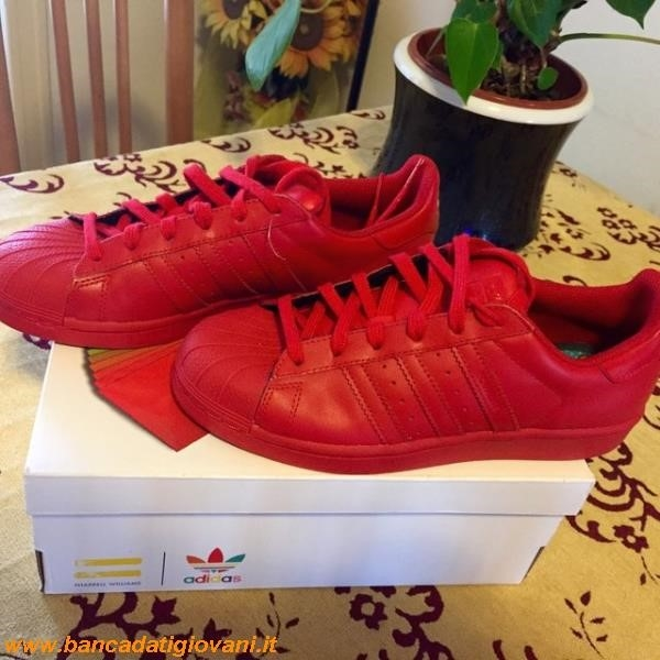 Adidas Superstar Supercolor Rosse