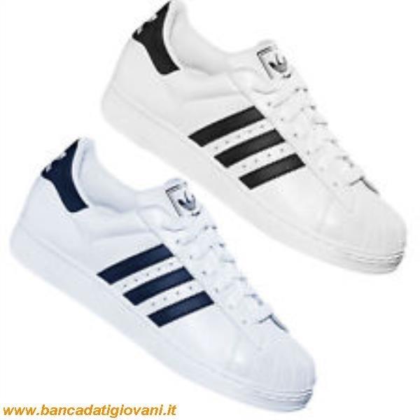 wholesale dealer ca963 8bc13 Adidas Superstar Blu Scuro
