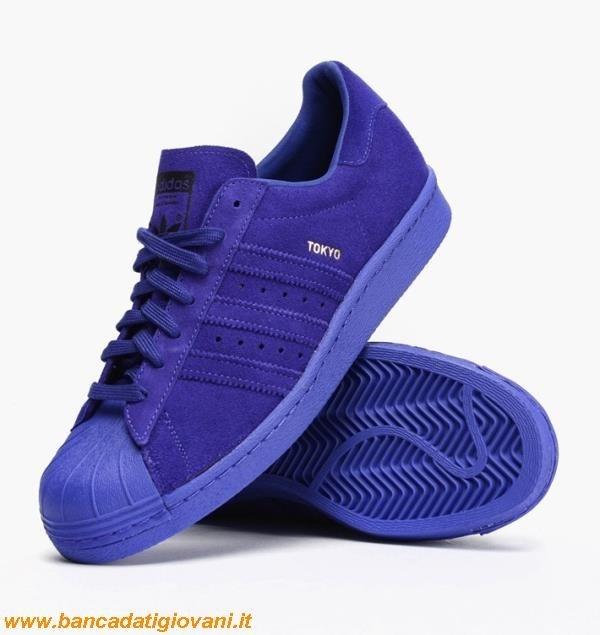 wholesale dealer 42b1d 4534c Adidas Superstar Blu Scuro
