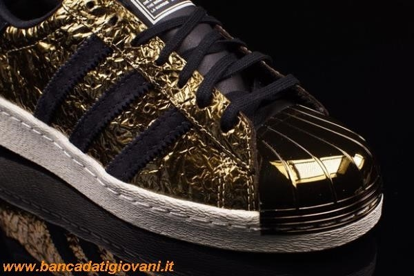 Adidas Superstar 80s Metal Gold