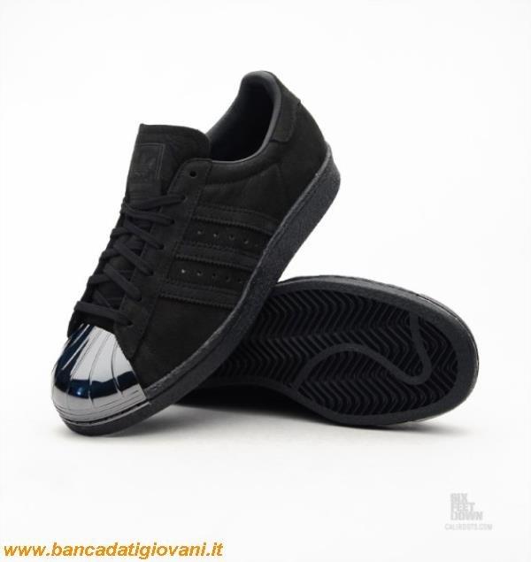 adidas superstar nere metal