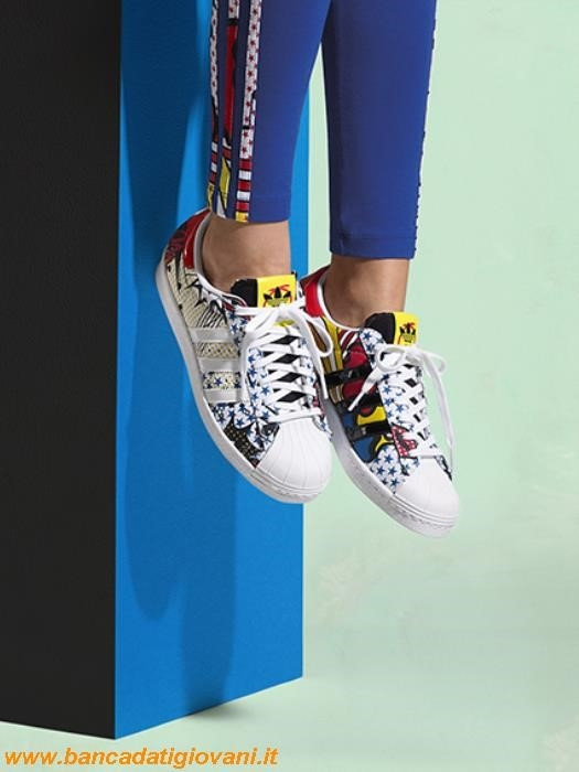 Adidas Scarpe Superstar Colorate