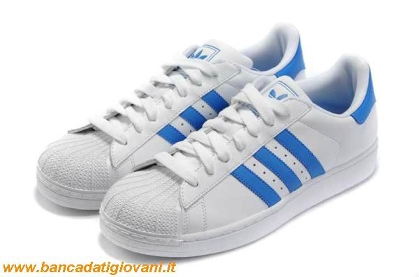 scarpe adidas superstar blu