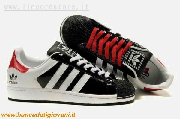 competitive price 74a95 8f486 Adidas Superstar Alte Bianche E Nere