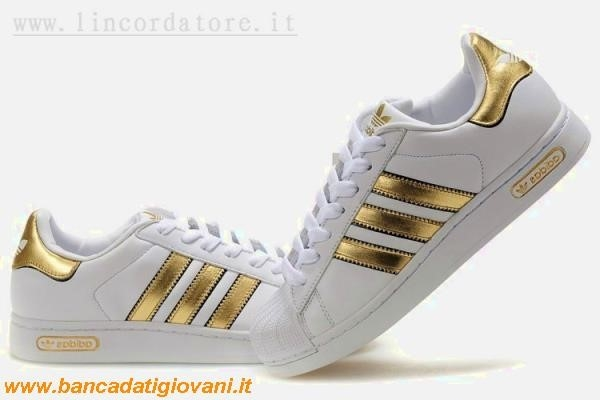 Adidas Superstar Dorate Prezzo