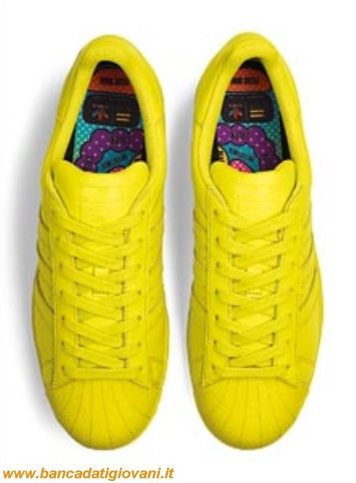 Adidas Superstar Supercolor Gialle