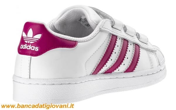 reputable site 0407b 46147 Adidas Superstar Fucsia Bambina