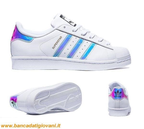 Adidas Superstar Metallic White