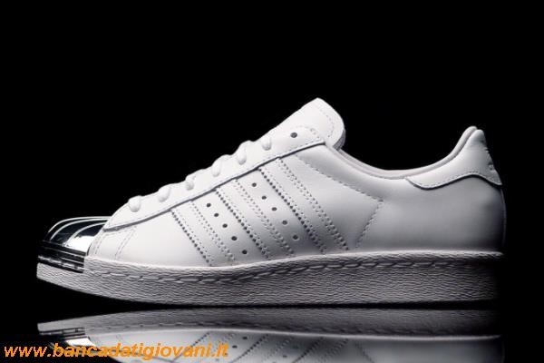 Adidas Superstar Metal Toe Bianche