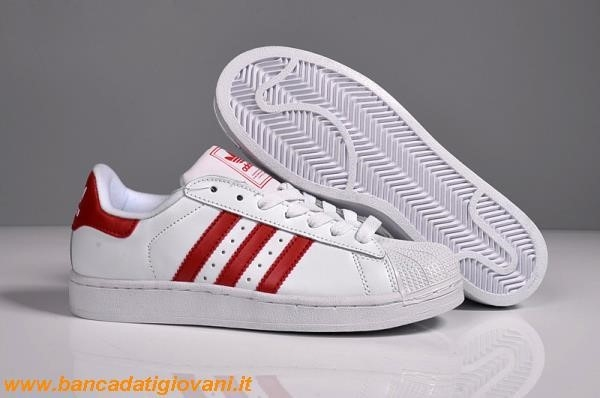 Adidas Superstar Red White