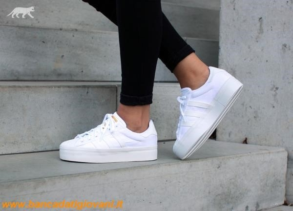 Adidas Superstar Rize Bianche