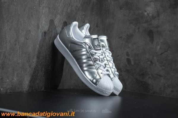 Adidas Superstar Silver Metallic