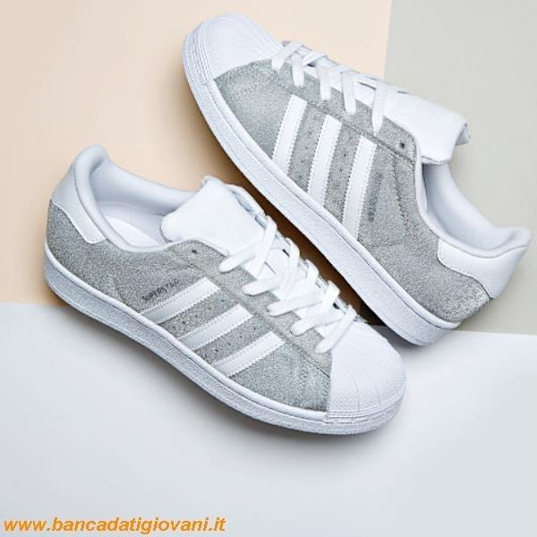separation shoes 13b6c b4f0c Adidas Superstar Silver Glitter bancadatigiovani.it