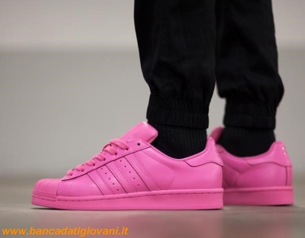 Adidas Superstar Colorate Rosa