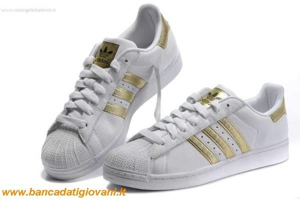 Adidas Superstar Colorate Gialle
