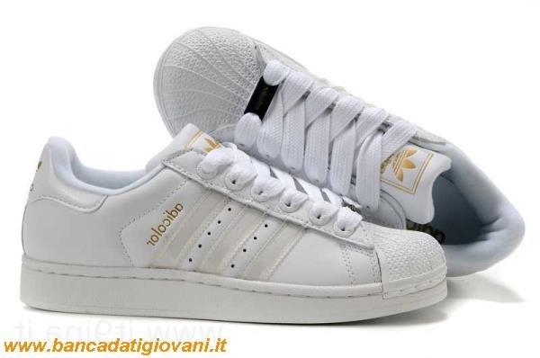 vast selection low priced superior quality Adidas Superstar Bianche E Oro Prezzo bancadatigiovani.it
