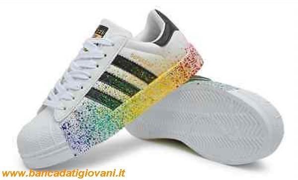 scarpe adidas superstar vernice color arcobaleno rymo.it