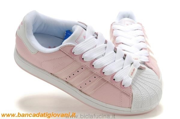 adidas rosa chiaro superstar