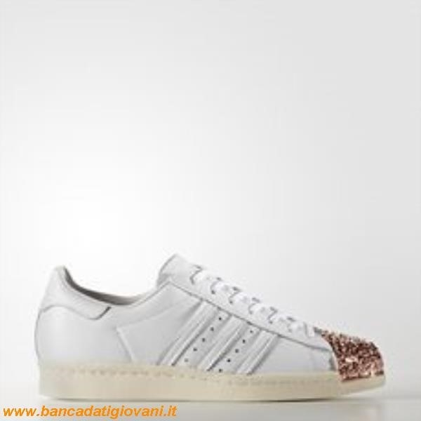 Adidas Superstar Brillantini Argento