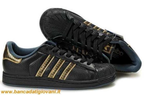 sale retailer 92922 66eea Adidas Superstar Nere E Oro