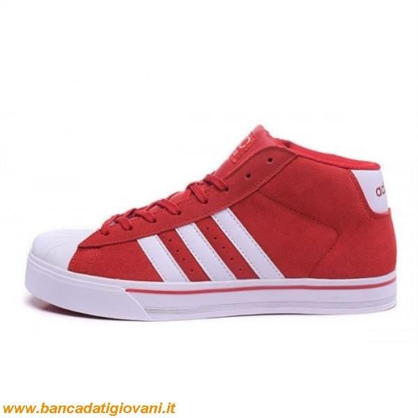 Superstar Adidas Colorate Rosse
