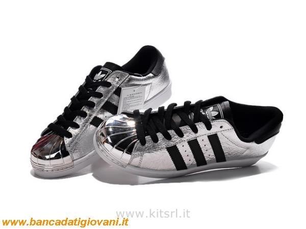adidas nere e argento