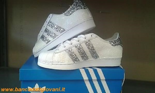 Adidas Superstar Nere Con Brillantini