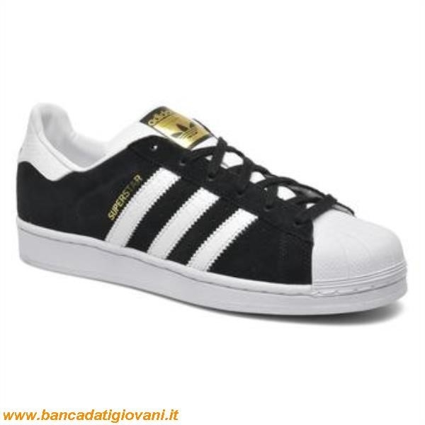buy popular 1c6e3 3cf63 Adidas Superstar Bianche Strisce Nere