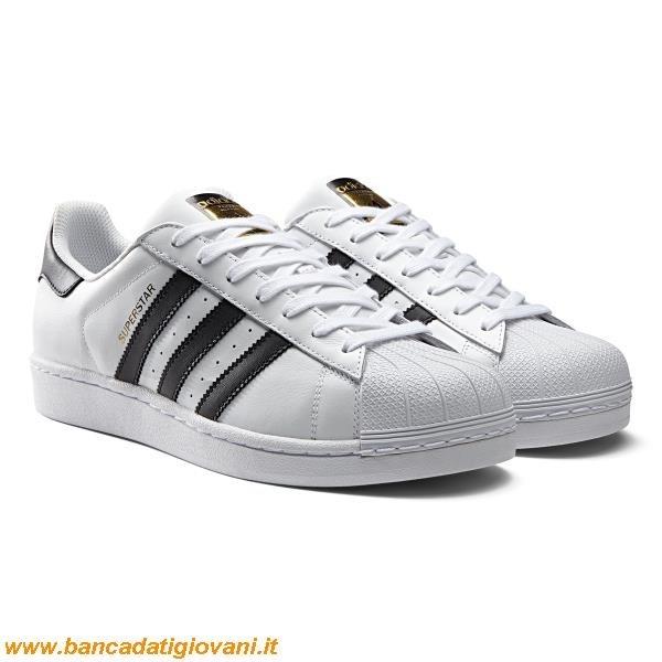 buy popular 1193c cdc7f Adidas Superstar Bianche Strisce Nere
