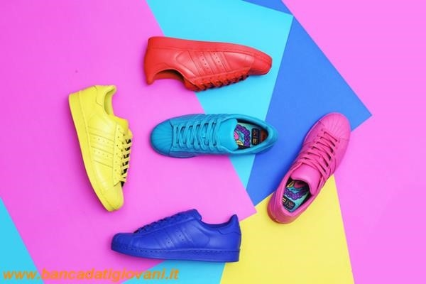 Adidas Superstar Rosa Pharrell