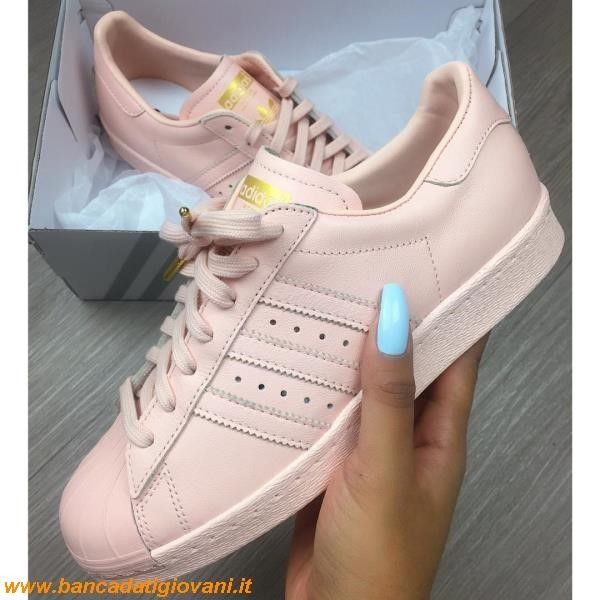 Adidas Superstar 80s Pink