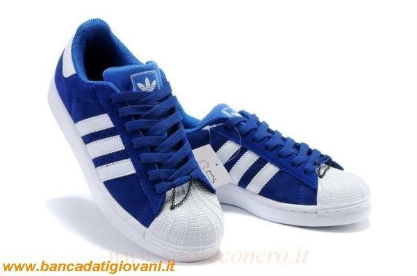 Adidas Superstar Uomo Blu